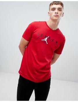 jordan-flight-t-shirt-in-red-916136-687 by jordan