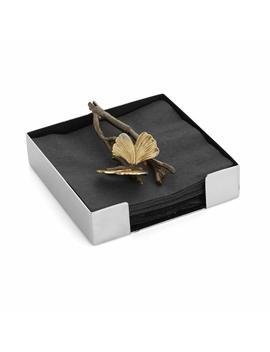 michael-aram-butterfly-ginkgo-cocktail-napkin-holder by michael-aram