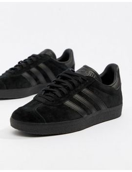 adidas-originals-gazelle-trainers-in-triple-black by adidas