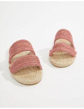 asos-design-java-espadrille-mule-sandals by asos-design