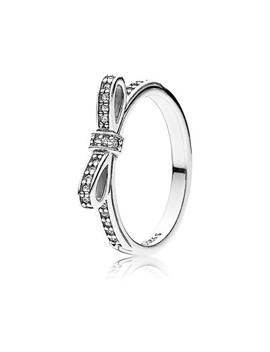 Inel Din Argint 925 şi Zirconiu Cubic, Cu Fundă by Pandora