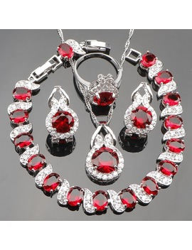 luxury-red-zirconia-bridal-925-sterling-silver-jewelry-sets-for-women-earrings-bracelet-ring-pendant-necklace-set-gift-box by sexemara