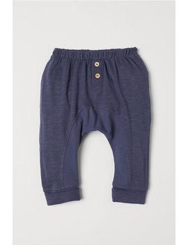 slub-jersey-pants by h&m