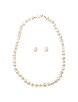 womens-faux-pearl-strand-necklace-_-earrings-set by learn-about-the-brandminicci
