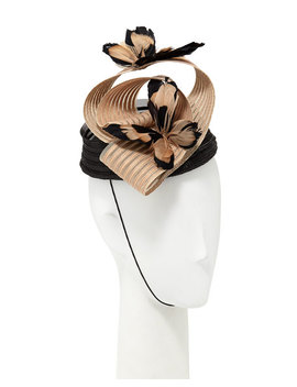 fascinator-hat-w_-feather-butterflies by marzi