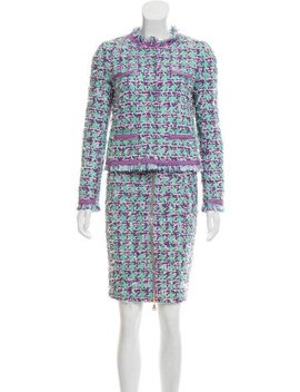 boutique-moschino-tweed-knee-length-skirt-suit by boutique-moschino