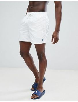 polo-ralph-lauren-traveller-swim-shorts-player-logo-in-white by polo-ralph-lauren