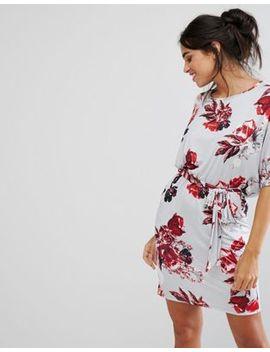 city-goddess-floral-wrap-front-dress by dress