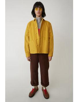 utility-jacket-mustard-yellow by acne-studios