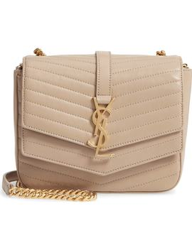 montaigne-quilted-lambskin-crossbody-bag by saint-laurent