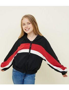 girls-black-colour-block-windbreaker-jacket by new-look