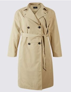 curve-belted-trench-coat by marks-&-spencer