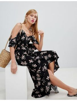 new-look-wrap-cold-shoulder-maxi-dress by new-look