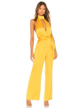 halter-jumpsuit by lpa