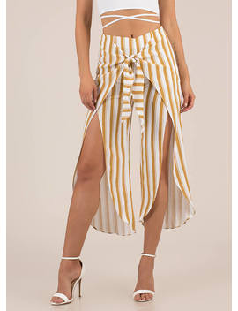 knot-on-vacation-striped-sarong-pants by gojane
