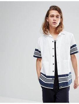 dickies-ocean-city-shirt-in-white by dickies