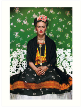 frida-kahlo-vouge-cover-poster-high-quality by simonzan