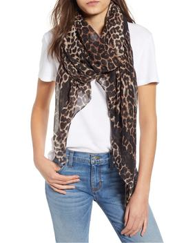 leopard-print-oblong-scarf by bp