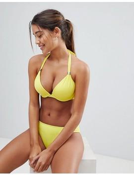 dorina-yellow-super-push-up-bikini-top by dorina