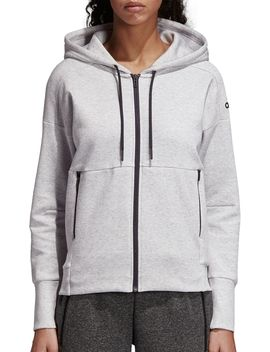 Adidas Women's Id Stadium Full Zip Hoodie by Adidas