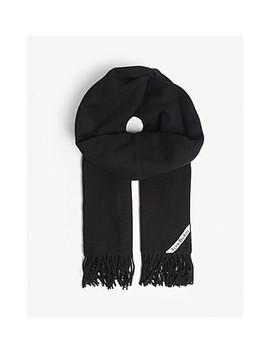 fringed-wool-scarf by acne-studios