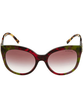 tortoiseshell-cat-eye-sunglasses by burberry