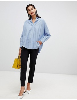 french-connection-oversized-striped-shirt by french-connection