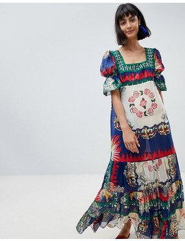 anna-sui-exclusive-maxi-dress-in-new-york-print by anna-sui