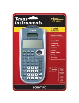 texas-instruments-ti-30xs-multiview-scientific-calculator by texas-instruments