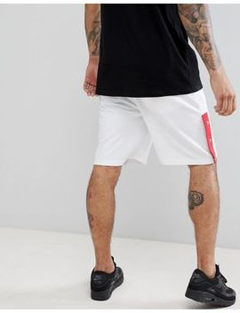 boohooman-jersey-shorts-with-poppers-in-white by boohooman