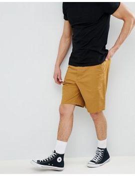 asos-design-skater-chino-shorts-in-mustard by asos-design