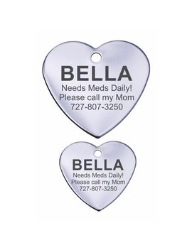 stainless-steel-personalized-pet-id-tags---heart by providence-engraving