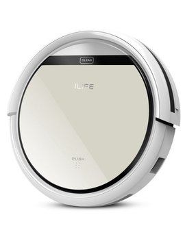 ilife-v5-robotic-vacuum-cleaner-with-smart-auto-cleaning-dry-mopping-remote-control-for-pets-hair by ilife