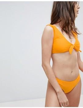 vero-moda-tie-front-bikini by asos