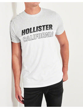 colorblock-logo-graphic-tee by hollister