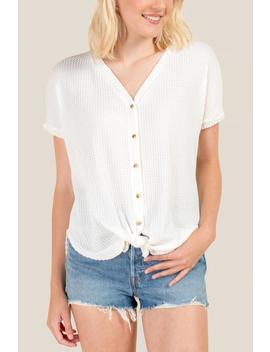 iris-button-tie-front-blouse by francescas