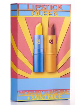 spacenkapothecary-lipstick-queen-mornin-sunshine-&-saint-nude-lipstick-duo by lipstick-queen