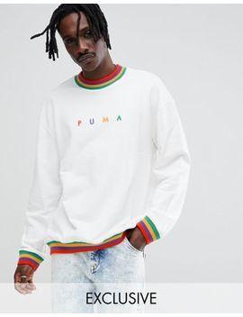 puma-–-weißes-sweatshirt-aus-bio-baumwolle-mit-kleinem-logo,-exklusiv-bei-asos by puma