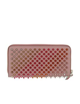 christian-louboutin-pink-leather-wallet by christian-louboutin