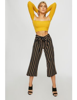 high-rise-belted-culotte-striped-pant by urban-planet