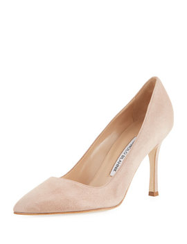 bb-suede-pointed-pump by manolo-blahnik