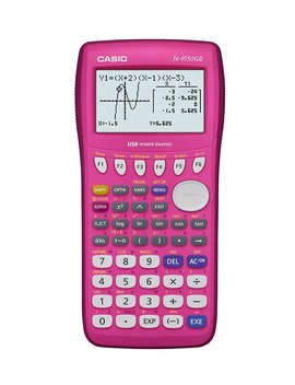 casio-fx-9750gii-graphing-calculator,-pink by casio