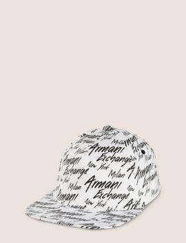 city-script-logo-hat by armani-exchange