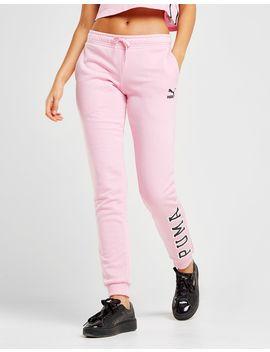 puma-logo-fleece-pants by puma