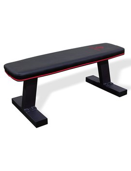 marcy-deluxe-versatile-flat-bench-workout-utility-bench-with-steel-frame-sb-10510 by marcy