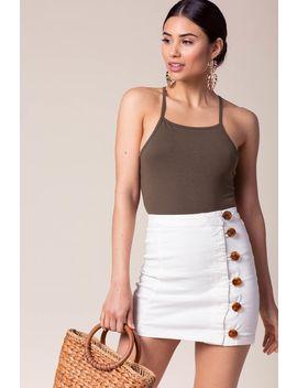 Rover Button Skirt by A'gaci