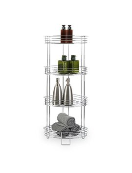 bino-luxe-4-tier-corner-spa-tower,-chrome by bino