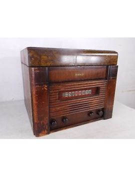 antique-1947-dewald-new-york-tube-am-radip-combo-phonograph-a-605-record-player by ebay-seller