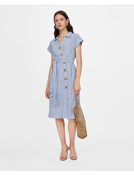 striped-shirt-dress--view-alldresses-woman by zara