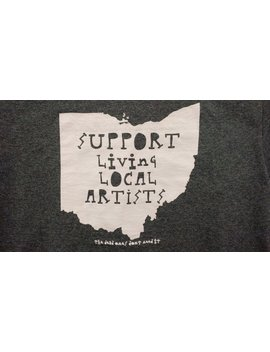support-living-local-artist-t-shirt-_-art-t-shirt-_-unisex-clothing by etsy